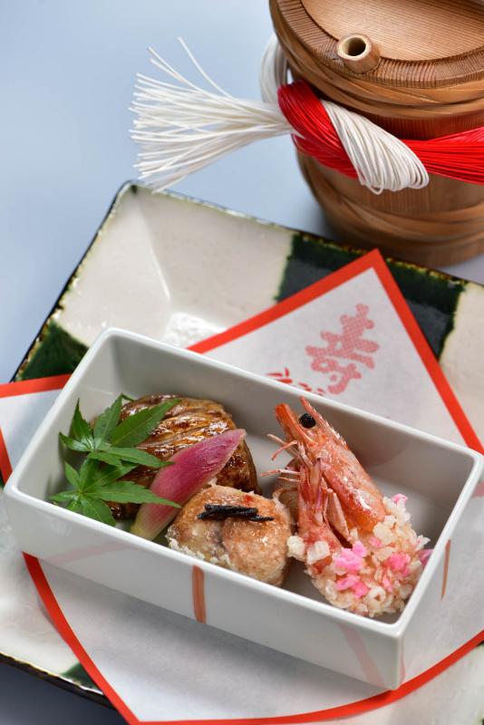 銀鱈と車海老の焼物