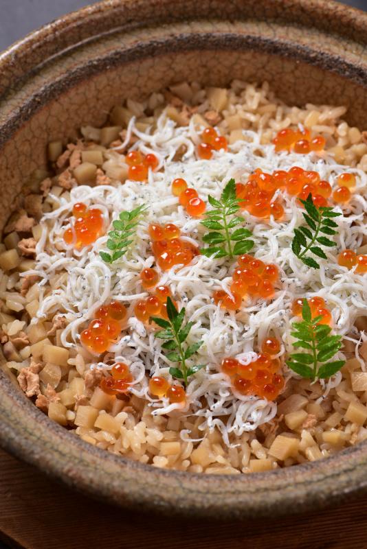 新生姜とシラスご飯