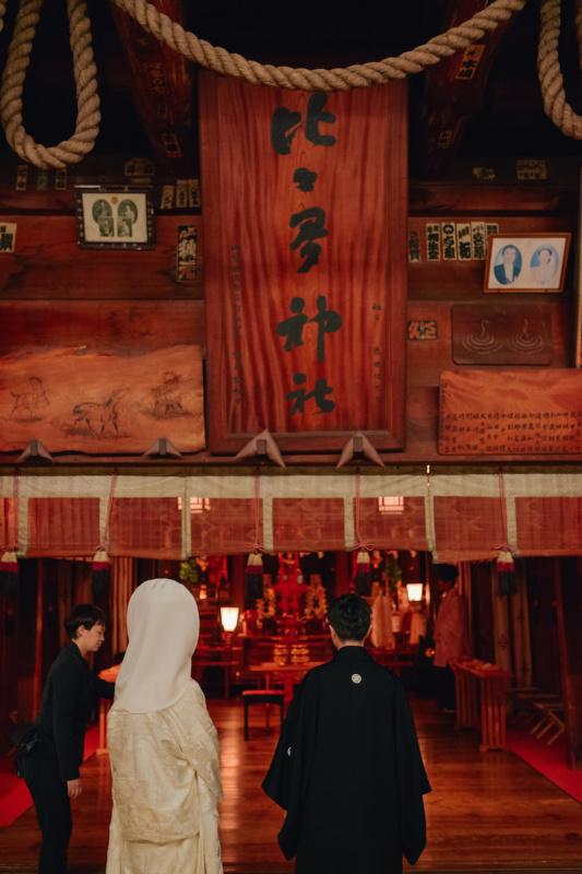 三ノ宮 比々多神社にて