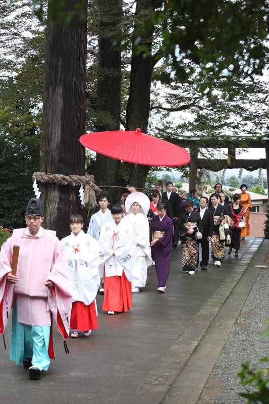 神社挙式:参進の儀