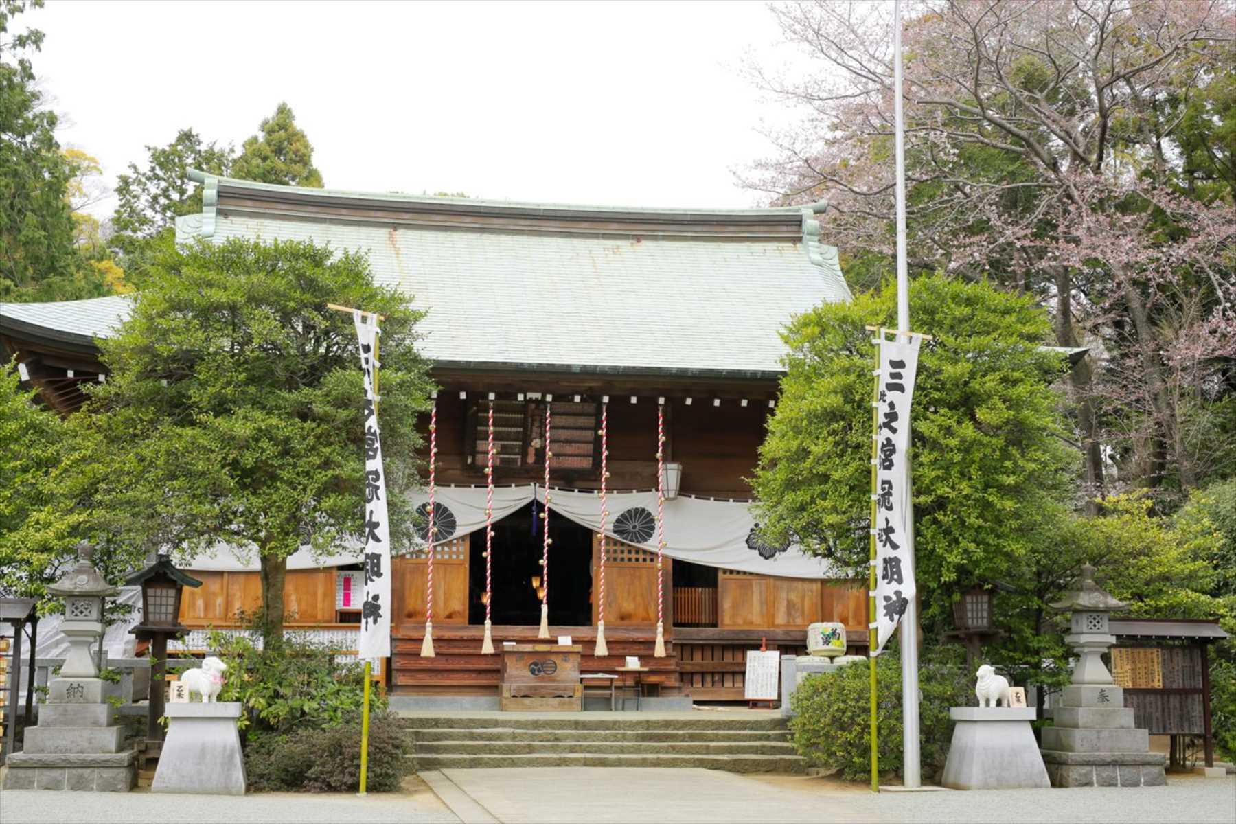 神社式 相模国三ノ宮比々多神社